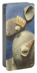 Sea Shells And Beach Stones Portable Battery Charger