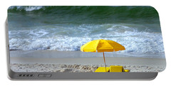 Portable Battery Charger featuring the photograph By The Sea Waiting For Me by Nava Thompson