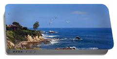 Seagulls At Laguna Beach Portable Battery Charger
