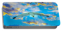 Seagulls  Portable Battery Charger