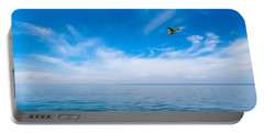 Seaplane Over Lake Superior   Portable Battery Charger