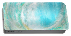 Seascapes Abstract Art - Mesmerized Portable Battery Charger