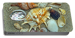 Seashells Collection Portable Battery Charger