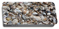 Seashells On The Beach Portable Battery Charger