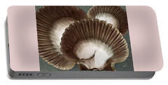 Portable Battery Charger featuring the photograph Seashells Spectacular No 22 by Ben and Raisa Gertsberg