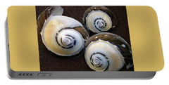 Portable Battery Charger featuring the photograph Seashells Spectacular No 23 by Ben and Raisa Gertsberg