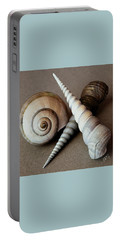 Portable Battery Charger featuring the photograph Seashells Spectacular No 24 by Ben and Raisa Gertsberg
