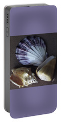 Portable Battery Charger featuring the photograph Seashells Spectacular No 30 by Ben and Raisa Gertsberg