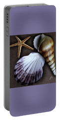 Portable Battery Charger featuring the photograph Seashells Spectacular No 37 by Ben and Raisa Gertsberg