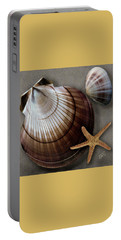 Portable Battery Charger featuring the photograph Seashells Spectacular No 38 by Ben and Raisa Gertsberg