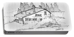 Seaside Cottage Monhegan Island 1993 Portable Battery Charger