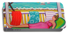 Seaside Siesta Portable Battery Charger