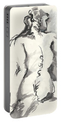 Seated Nude Portable Battery Charger by Melinda Dare Benfield