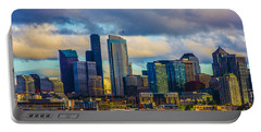 Seattle Cityscape Portable Battery Charger