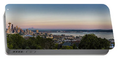 Seattle Elliot Bay Panorama Huge Portable Battery Charger