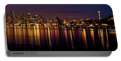 Seattle Night Reflections Portable Battery Charger