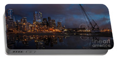 Seattle Night Skyline Portable Battery Charger