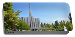 Seattle Temple - Horizontal Portable Battery Charger