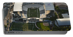 Seattle With Aerial View Of The Newly Renovated Husky Stadium Portable Battery Charger
