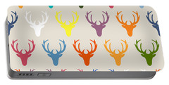 Seaview Simple Deer Heads Portable Battery Charger
