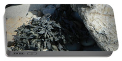 Seaweed And Rocks  Portable Battery Charger by Chalet Roome-Rigdon