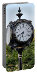 Secaucus Clock Marras Drugs Portable Battery Charger