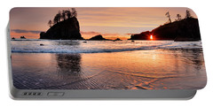 Second Beach Sunset Portable Battery Charger