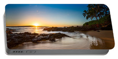 Secret Beach Sunset Portable Battery Charger