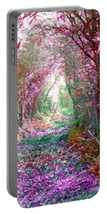 Secret Garden Portable Battery Charger by Vicki Spindler