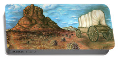 Sedona Arizona - Western Art Painting Portable Battery Charger