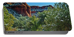 Portable Battery Charger featuring the photograph Sedona Arizona - Wilderness Area by Bob and Nadine Johnston