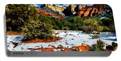 Portable Battery Charger featuring the photograph Sedona Arizona - Wilderness by Bob and Nadine Johnston