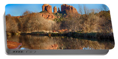 Sedona Winter Reflections Portable Battery Charger by Fred Larson