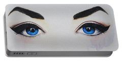 Seeing Into The Soul Seductive Portable Battery Charger by Malinda  Prudhomme