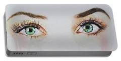 Seeing Into The Soul Sultry Portable Battery Charger