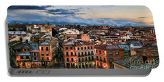 Segovia Nights In Spain By Diana Sainz Portable Battery Charger