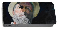 Portable Battery Charger featuring the painting Self Portrait  by Brian Boyle