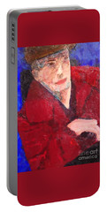Self-portrait Portable Battery Charger by Donald J Ryker III
