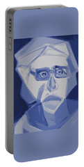 Self Portrait In Cubism Portable Battery Charger