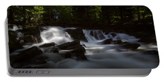 Portable Battery Charger featuring the photograph Selkefall, Harz by Andreas Levi