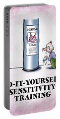 Sensitivity Training Portable Battery Charger
