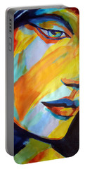 Portable Battery Charger featuring the painting Sentiment by Helena Wierzbicki