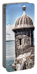 Sentry Box In El Morro Hdr Portable Battery Charger