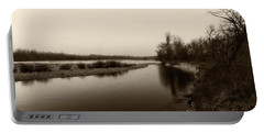 Sepia River Portable Battery Charger