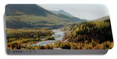 September Morning In Alaska Portable Battery Charger