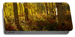 September Scene Portable Battery Charger by Jeremy Rhoades