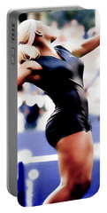 Serena Williams Catsuit Portable Battery Charger by Brian Reaves