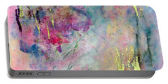 Serene Mist Encaustic Portable Battery Charger