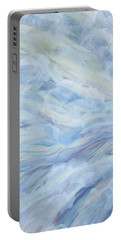 Serene Scene Portable Battery Charger by Heather  Hiland