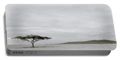Serengeti Acacia Tree  Portable Battery Charger by Shaun Higson